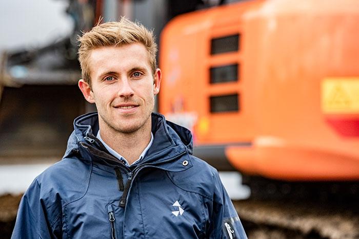 Administrerende direktør Christian Vesti Olsen i byggefirmaet Vesti Olsen & Hansen a/s