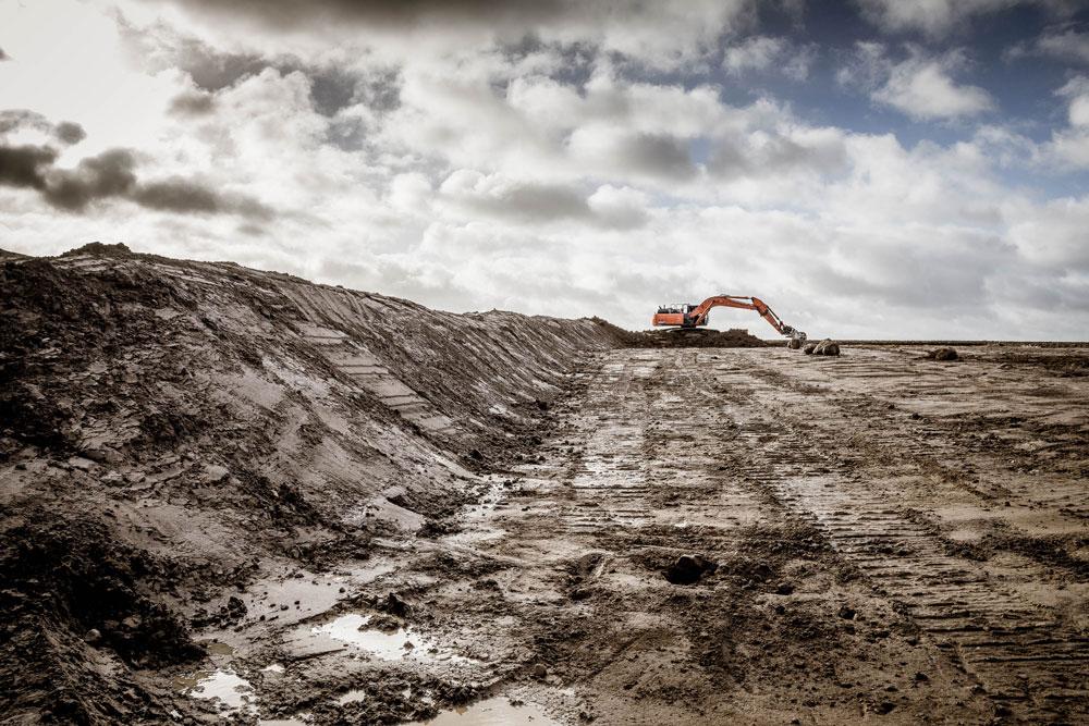 Udgravning til Mariehjem i Hvalsø