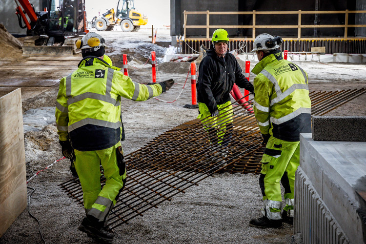 Klargøring af betonarbejde