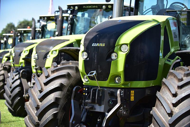 Traktorer på Roskilde Dyrskue
