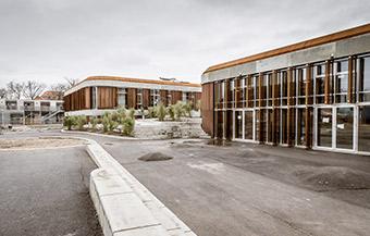 Jord- og anlægsarbejde på Brønshøj Skole