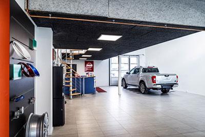 Moderne bilhuse