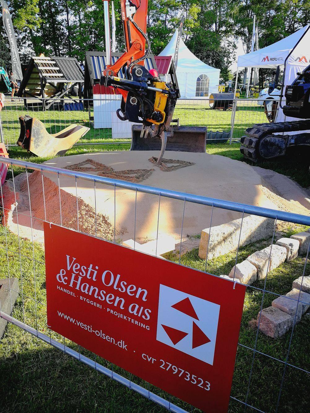 gravemaskine på Roskilde dyrskue