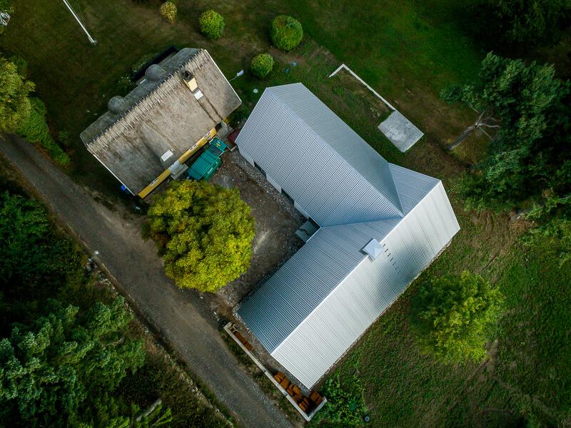 Dronefoto - huset i Asnæs 2