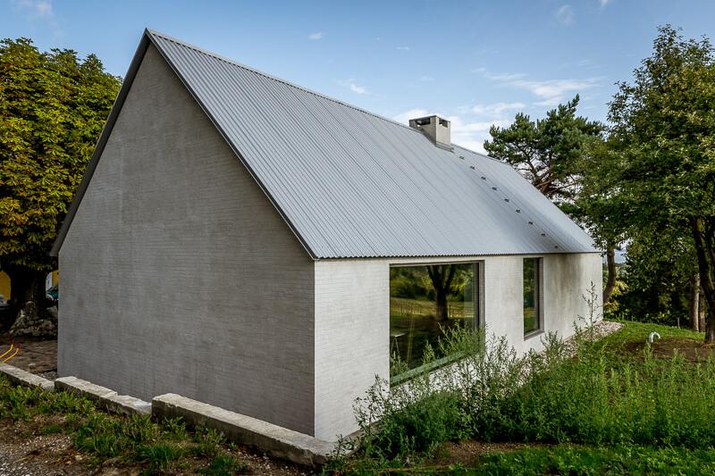 Facadefoto - huset i Asnæs