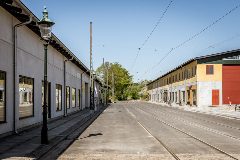 Gade på Sporvejsmuseet