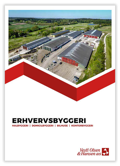 Erhvervsbyggeri brochure
