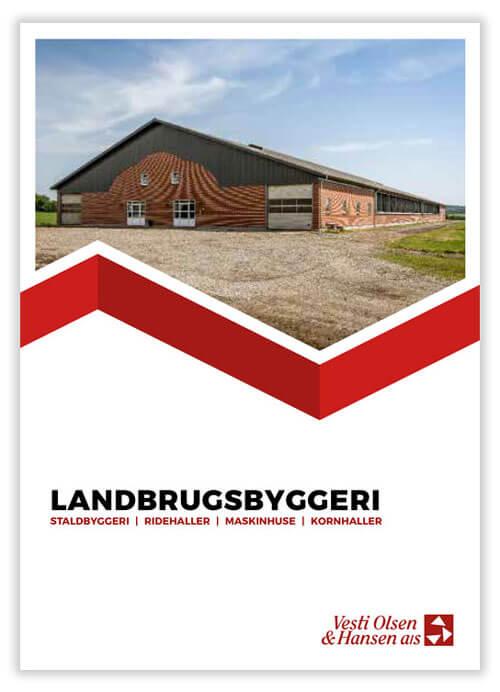 Landbrugsbyggeri brochure