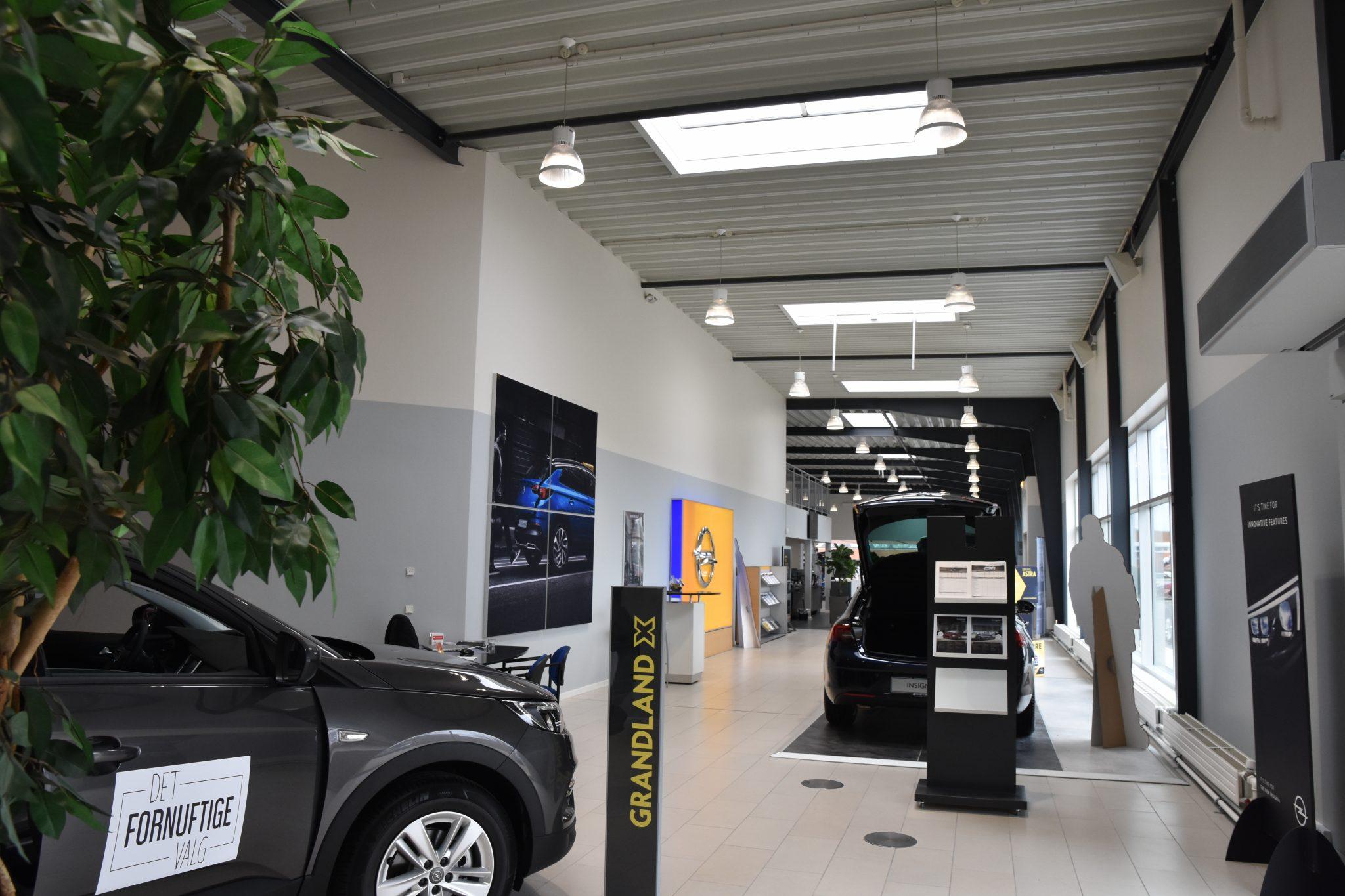 Opel udstilling