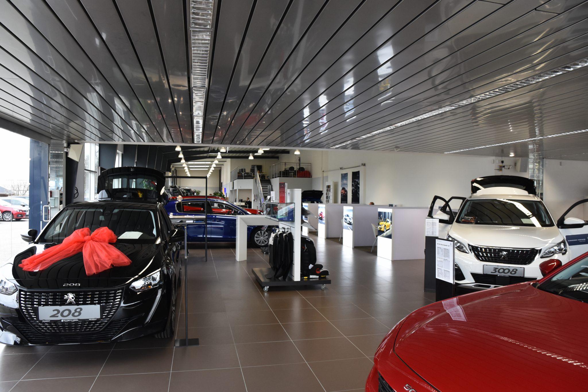 Peugeot udstilling