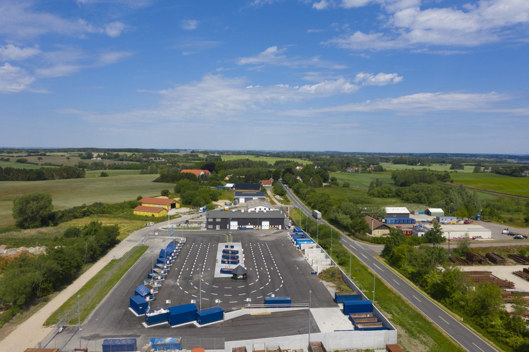 Billede af genbrugsstation