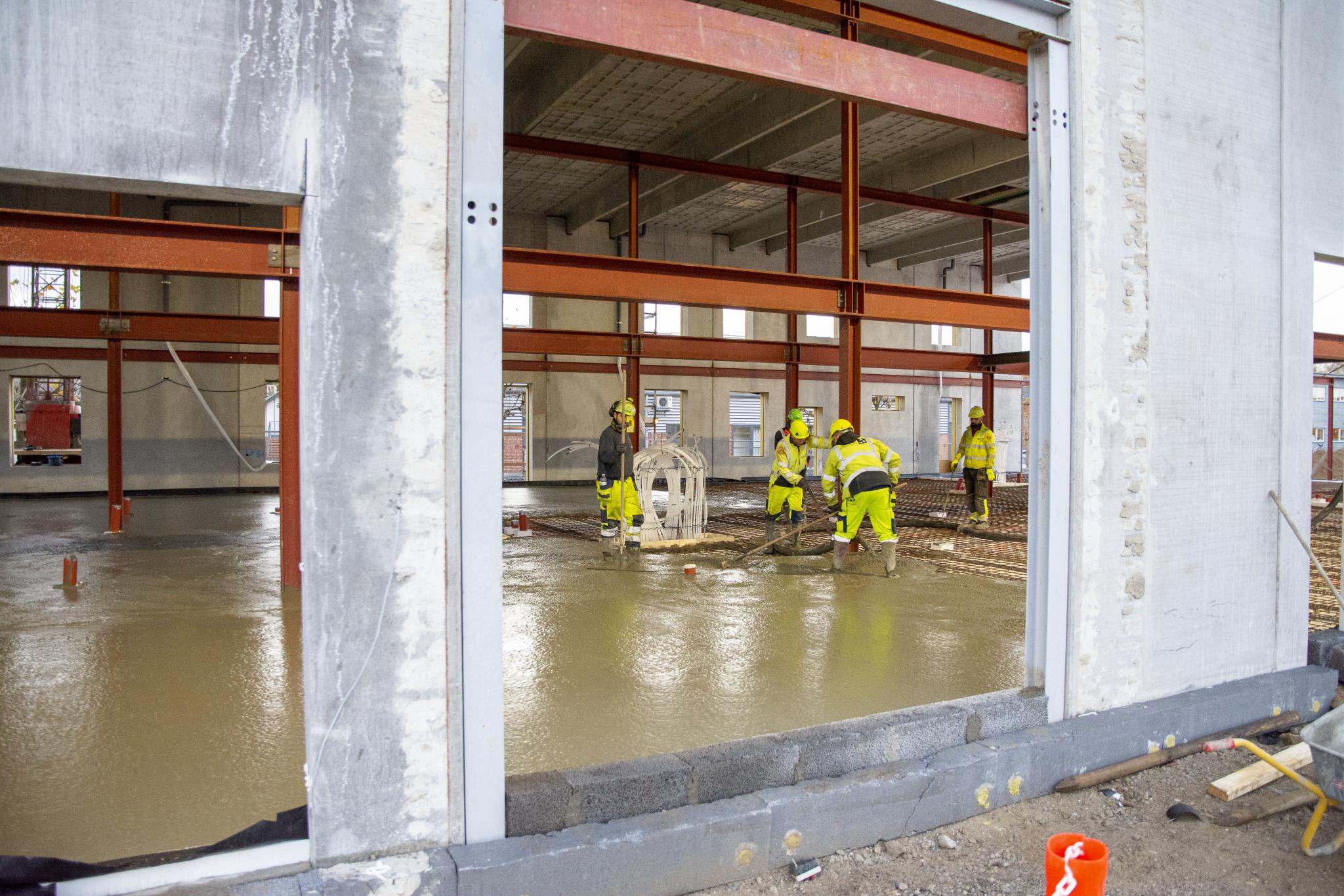 Billede af Totalentreprise - betonarbejde