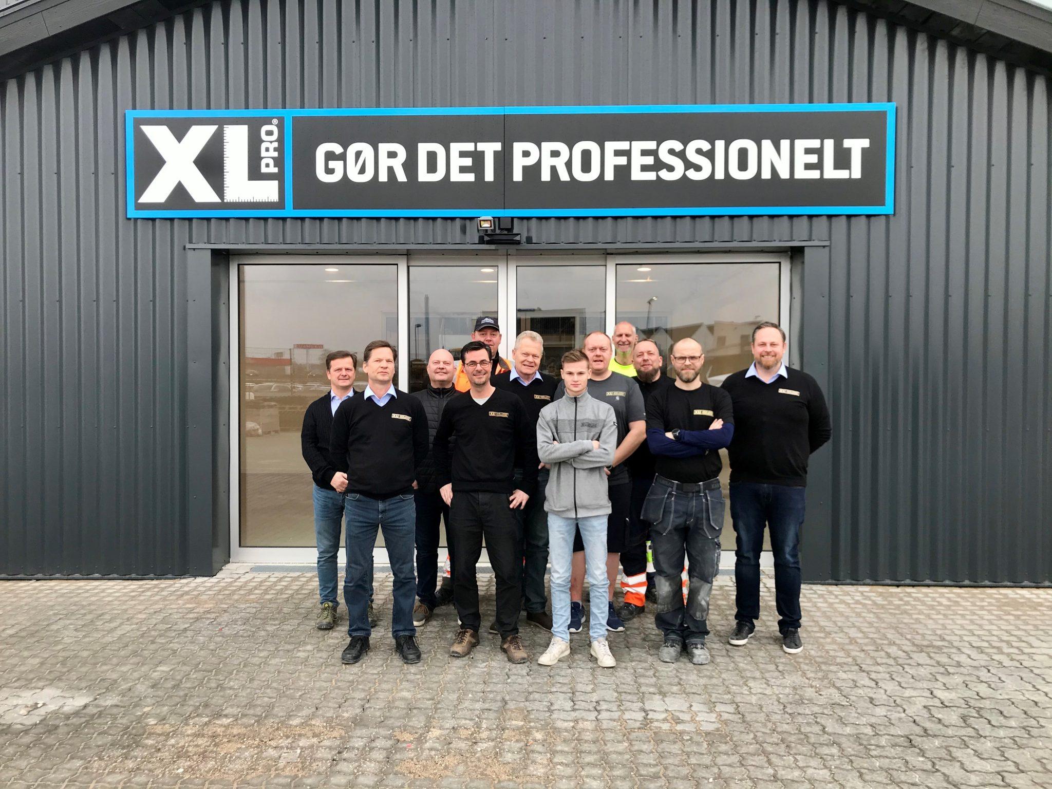 Personalet hos XL-BYG, Roskilde