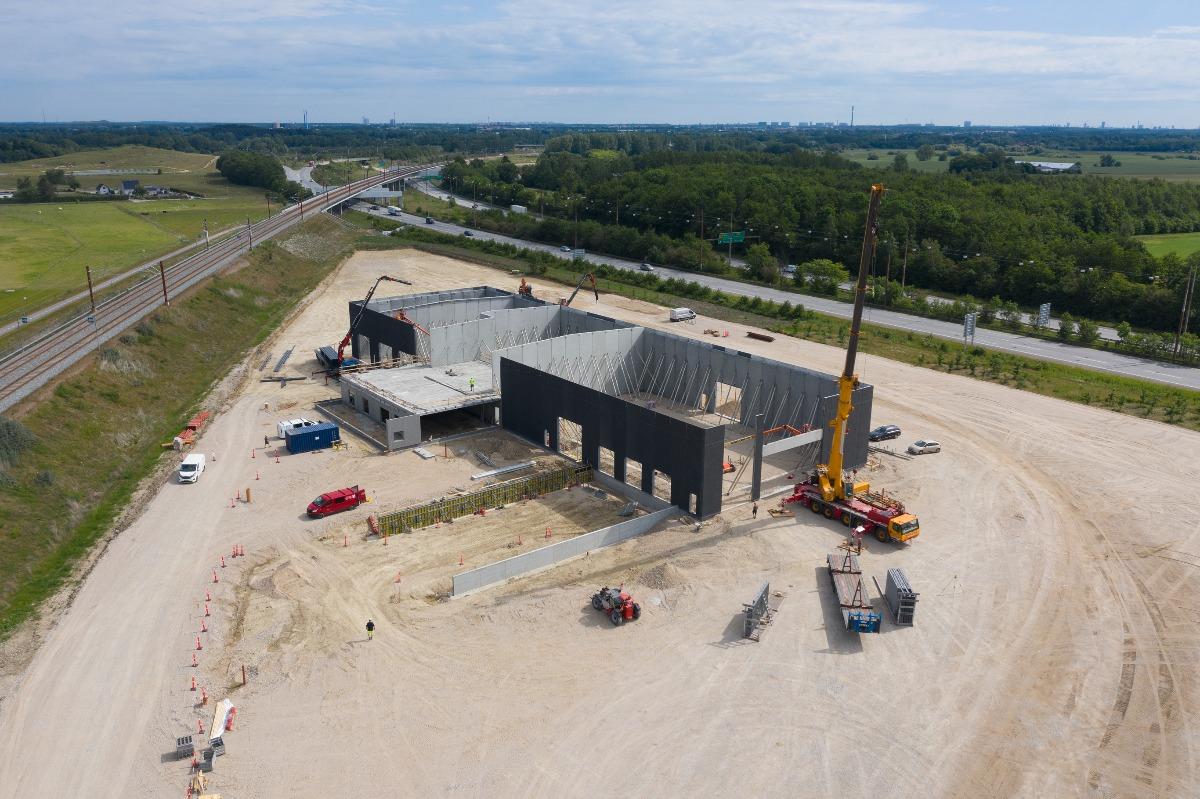 3.000 m2 logistikhal under opførelse